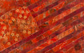 Paintings, Shepard Fairey (b. 1970). May Day Flag Red (Version 2), 2010. Stencil and mixed media collage on canvas. 32 x 50 inches ...