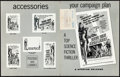 """Movie Posters:Science Fiction, Devil Girl from Mars & Other Lot (Spartan, 1955). Folded, Overall: Fine/Very Fine. Uncut Pressbook (4 Pages, 11"""" X 14""""), Lob... (Total: 6 Items)"""