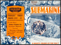 """Movie Posters:Action, Submarine (Columbia, 1928). Overall: Very Fine-. Heralds (4) (4"""" X 6"""" - 5"""" X 7"""") & Danish Heralds (2) (4.75"""" X 6""""). Action.... (Total: 6 Items)"""