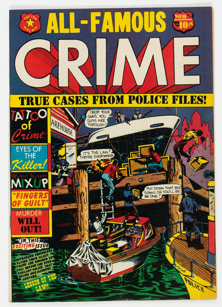 All-Famous Crime #10 (#3) (Star Publications, 1951) Condition: FN/VF....