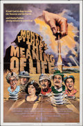 "Movie Posters:Comedy, Monty Python's The Meaning of Life (Universal, 1983). Folded, Very Fine-. One Sheet (27"" X 41""). Comedy.. ..."