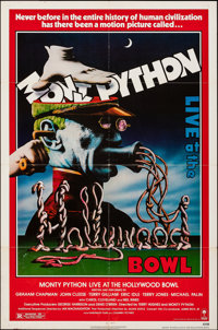 "Monty Python Live at the Hollywood Bowl (Columbia, 1982). Folded, Very Fine-. One Sheet (27"" X 41""). Comedy..."