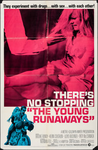 "The Young Runaways & Other Lot (MGM, 1968). Folded, Fine+. One Sheets (2) (27"" X 41"") & Lobby Card Set..."
