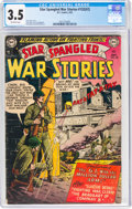 Golden Age (1938-1955):War, Star Spangled War Stories #132 (#2) (DC, 1952) CGC VG- 3.5 Off-white pages....