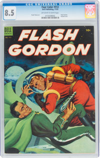 Four Color #512 Flash Gordon (Dell, 1953) CGC VF+ 8.5 Off-white to white pages