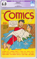 Platinum Age (1897-1937):Miscellaneous, The Comics #2 (Dell, 1937) CGC Apparent FN 6.0 Slight (C-1) Light tan to off-white pages....