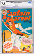 Golden Age (1938-1955):Superhero, Captain Marvel Adventures #59 Cookeville Pedigree (Fawcett Publications, 1946) CGC VF- 7.5 Off-white to white pages....