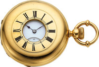 Patek Philippe & Co. Fine 18k Gold Early Keyless Demi-Hunters Case, circa 1870