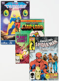 Modern Age (1980-Present):Miscellaneous, Marvel Bronze to Modern Age Box Lot (Marvel, 1970s-90s) Condition: Average VG/FN.... (Total: 2 Box Lots)
