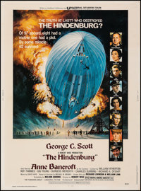 "The Hindenburg (Universal, 1975). Fine/Very Fine on Linen. Poster (30"" X 40""). Thriller"