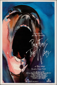 "Pink Floyd: The Wall (MGM, 1982). Rolled, Very Fine. Poster (40"" X 60""). Gerald Scarfe Artwork. Rock and Roll..."