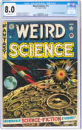 Golden Age (1938-1955):Science Fiction, Weird Science #11 (EC, 1952) CGC VF 8.0 Off-white pages....
