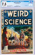 Golden Age (1938-1955):Science Fiction, Weird Science #14 (EC, 1952) CGC VF- 7.5 Off-white pages....