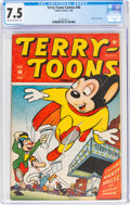 Golden Age (1938-1955):Cartoon Character, Terry-Toons Comics #46 (Timely, 1946) CGC VF- 7.5 Cream to off-white pages....