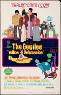 """Movie Posters:Animation, Yellow Submarine (United Artists, 1968). Folded, Very Good-. Trimmed One Sheet (25.75"""" X 39.75""""). Heinz Edelmann Artwork. An..."""