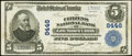 National Bank Notes:Pennsylvania, East Mauch Chunk, PA - $5 1902 Plain Back Fr. 600 The Citizens National Bank Ch. # 8446 Very Fine+.. ...