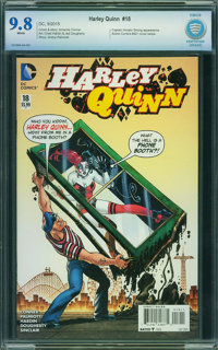 Harley Quinn #18 - CBCS Certified (DC, 2015) CGC NM/MT 9.8 White pages