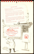 Movie Posters:Sexploitation, Delectable Dishes (Lewis Artist Supply Company, 1950). Ver...