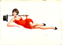 Sweet Charity by Ron Wicks (Universal, 1969). Very Fine. Signed Original Gouache Comp Artwork on Illustration Board (30&...