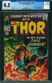 Journey Into Mystery #120 (Marvel, 1965) CGC VG+ 4.5 OFF-WHITE TO WHITE pages