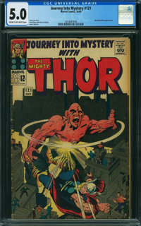 Journey Into Mystery #121 (Marvel, 1965) CGC VG/FN 5.0 CREAM TO OFF-WHITE pages