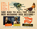 Movie Posters:Science Fiction, The Fly (20th Century Fox, 1958). Fine/Very Fine on Paper....