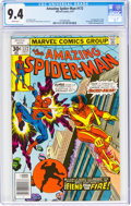 Bronze Age (1970-1979):Superhero, The Amazing Spider-Man #172 (Marvel, 1977) CGC NM 9.4 White pages....