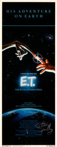 Movie Posters:Science Fiction, E.T. The Extra-Terrestrial (Universal, 1982). Fine/Very Fi...