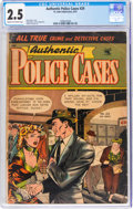 Golden Age (1938-1955):Crime, Authentic Police Cases #29 (St. John, 1953) CGC GD+ 2.5 Cream to off-white pages....