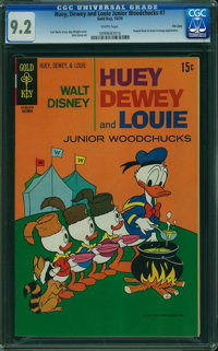 Huey, Dewey, and Louie Junior Woodchucks #7 - File Copy (Gold Key/Whitman, 1970) CGC NM- 9.2 WHITE pages