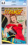 Silver Age (1956-1969):Horror, Strange #4 (Ajax/Farrell, 1957) CGC FN+ 6.5 Off-white to white pages....
