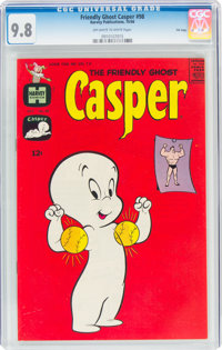 Friendly Ghost Casper #98 File Copy (Harvey, 1966) CGC NM/MT 9.8 Off-white to white pages