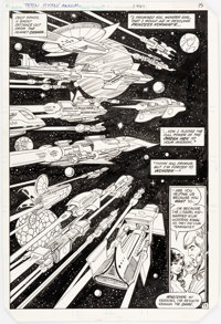 George Pérez and Romeo Tanghal The New Teen Titans Annual #1 Story Page 13 Original Art (DC Comics, 1982)