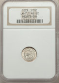 Bust Half Dimes, 1829 H10C V-4, LM-7.1, R.4, MS62 NGC. NGC Census: (1/0). MS62. Mintage 1,230,000. ...
