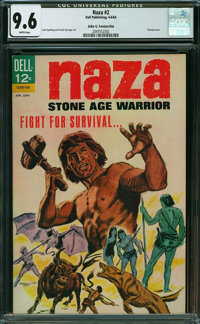 Naza #2 - John G. Fantucchio (Dell, 1964) CGC NM+ 9.6 WHITE pages