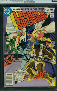 Legion of Super-Heroes #264 - Mile High II (DC, 1980) CGC NM 9.4 OFF-WHITE TO WHITE pages