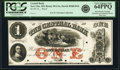 Obsoletes By State:Minnesota, New Ulm, MN- Central Bank $1 18__ as G2a Hewitt B380-D1b Proof PCGS Very Choice New 64PPQ.. ...