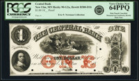 New Ulm, MN- Central Bank $1 18__ as G2a Hewitt B380-D1b Proof PCGS Very Choice New 64PPQ