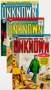 Adventures Into The Unknown Group of 33 (ACG, 1956-65) Condition: Average FN/VF.... (Total: 33 Comic Books)
