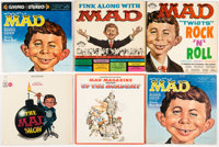 MAD Record Album Group of 6 (Various Labels, 1950s-70s).... (Total: 6 Items)
