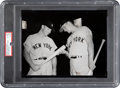 Baseball Collectibles:Others, 1960 Mickey Mantle & Roger Maris Original Photograph, PSA/DNA Type 1. ...