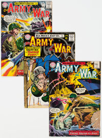 Our Army at War Group of 10 (DC, 1964-74) Condition: Average VG.... (Total: 10 Comic Books)