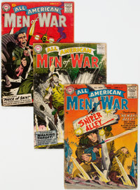All American Men of War Group of 17 (DC, 1956-65) Condition: Average GD+.... (Total: 17 Comic Books)