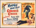 Movie Posters:Western, Coroner Creek & Other Lot (Columbia, 1948). Folded, Fine+....