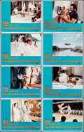 """Movie Posters:James Bond, The Man with the Golden Gun (United Artists, 1974). Very Fine-. Lobby Card Set of 8 (11"""" X 14""""). James Bond.. ... (Total: 8 Items)"""