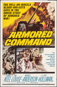 "Armored Command & Other Lot (Allied Artists, 1961). Folded, Overall: Very Fine-. One Sheets (3) (27"" X 41""..."