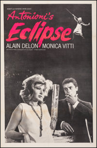 """The Eclipse (Times Film, 1962). Fine/Very Fine on Linen. One Sheet (27"""" X 41.5""""). Foreign"""
