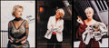 """Movie Posters:Miscellaneous, Helen Mirren (20th Century Fox, c.2010). Very Fine on Linen. Autographed Trade Ads (3) (8.25"""" X 11.25""""). Miscellaneous.. ... (Total: 3 Items)"""