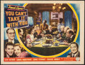 "Movie Posters:Academy Award Winners, You Can't Take It with You (Columbia, 1938). Fine/Very Fine on Paper. Lobby Card (11"" X 14""). Academy Award Winners.. ..."