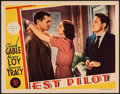 "Movie Posters:Action, Test Pilot (MGM, 1938). Fine/Very Fine. Lobby Card (11"" X 14""). Action.. ..."